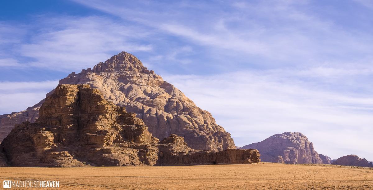Wadi Rum, Limestone Mountains, Desert, Prehistoric Ocean