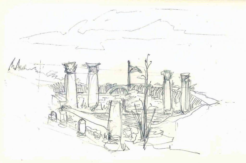 Corinthian columns, the citadel, UNESCO jordan, what to do in Amman, Bedouin Metropolis