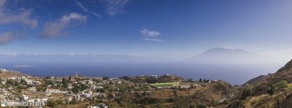 view fogo volcano from brava