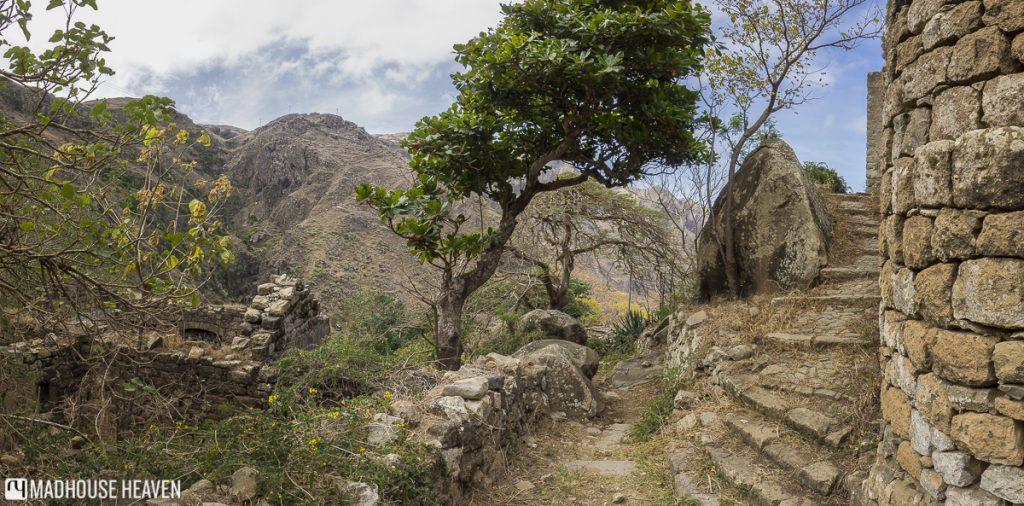 hiking to faja de agua brava cape verde