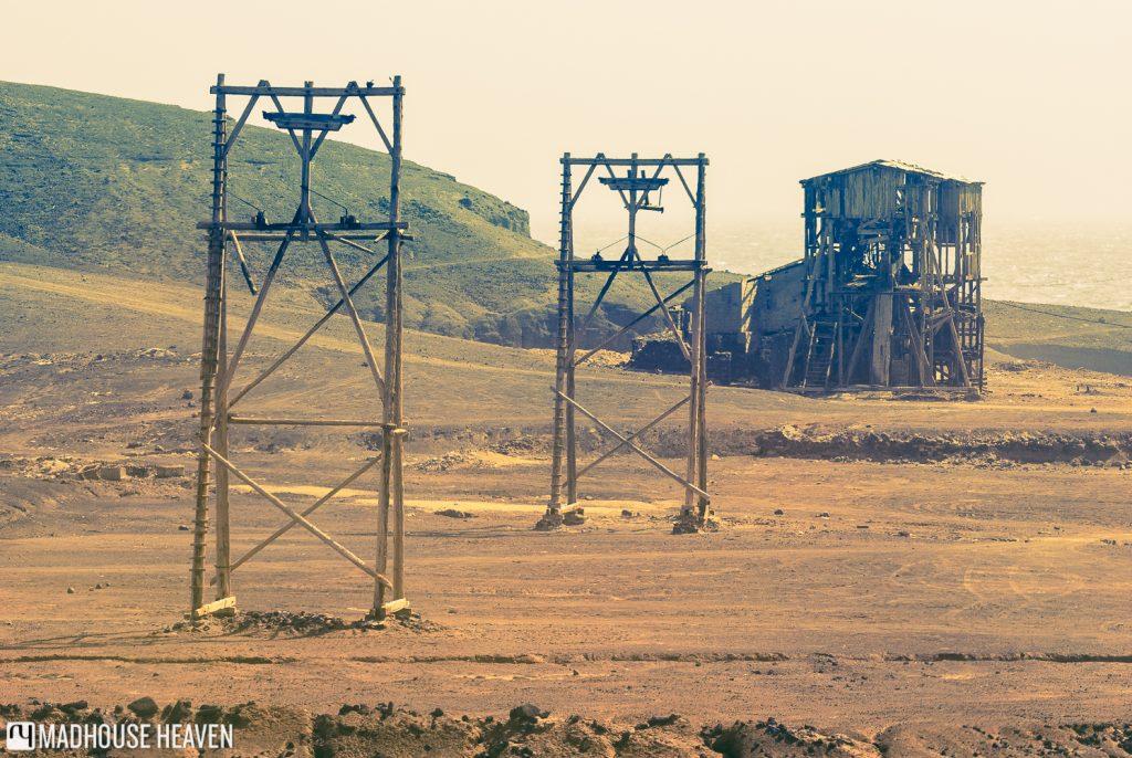 Cape Verde Sal Island Tour, Salt mining rigs, Salinas, Pedra de Lume, Sal, Cape Verde