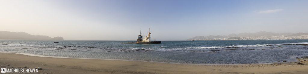 Residencial GOA Mindelo São Vicente, ship wreck, cape verde