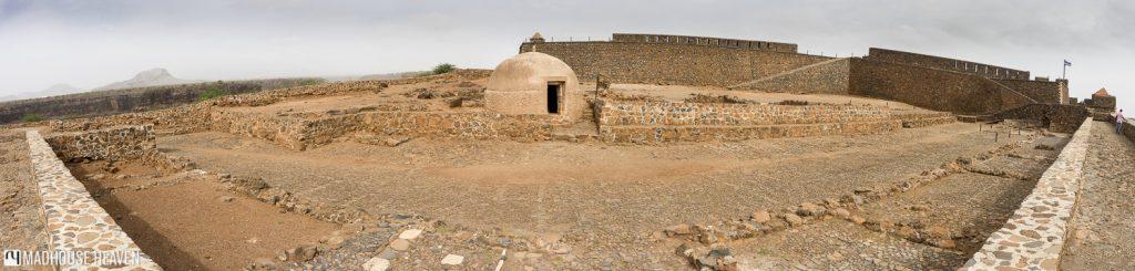 fort Cape Verde Oldest Settlement Cidade Velha Santiago