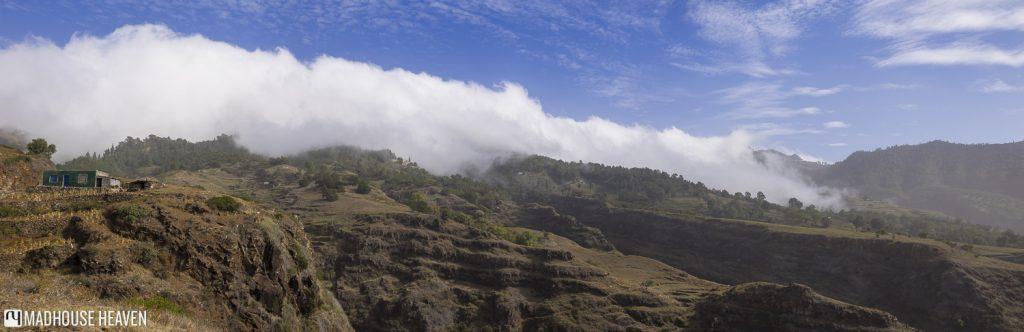 Delgadinho Mountain Ridge, Rua de Corda, Cova Crater, Ponta do Sol, Santo Antão, Cape Verde