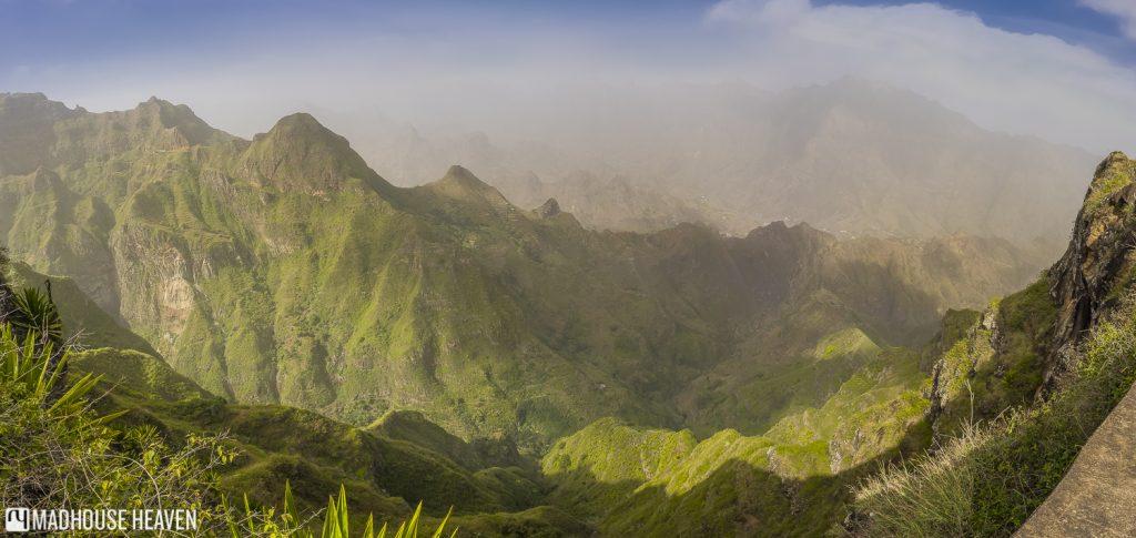 Delgadinho Mountain Ridge, Cova Crater, Xôxô Valley, Santo Antão, Cape Verde