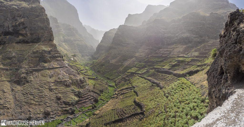 corvo village located along the Santo Antao coastal hike