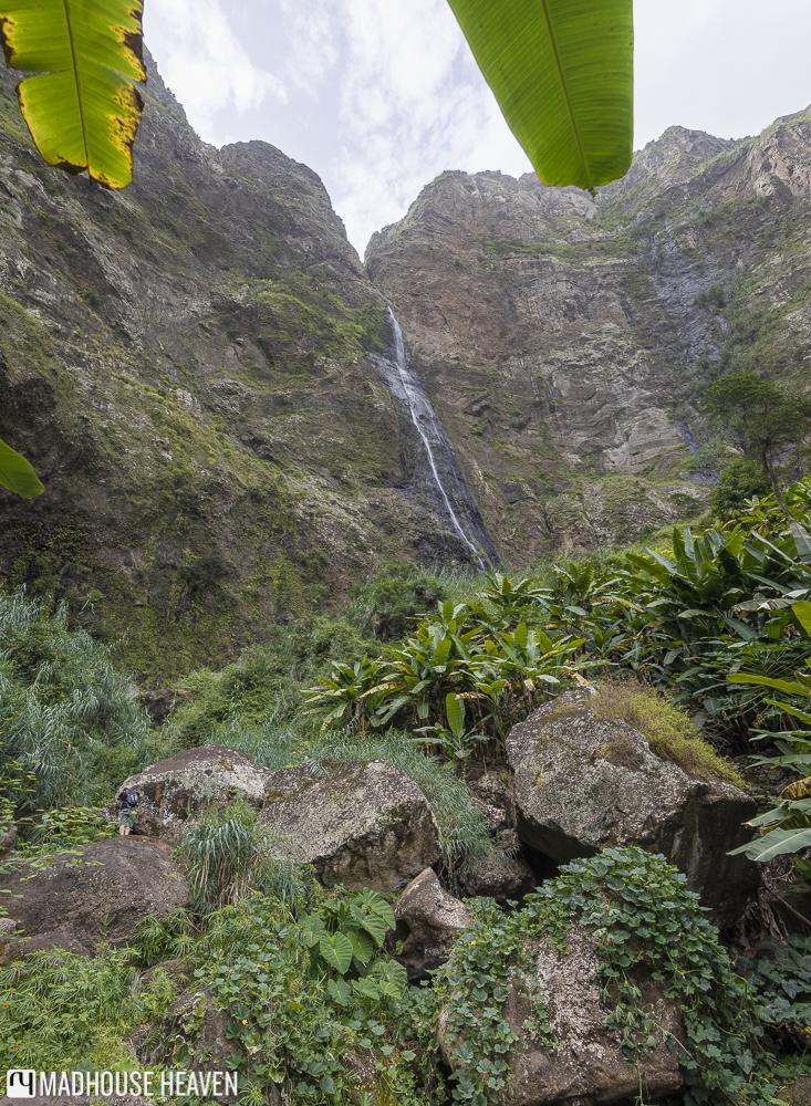 Ra de Neve Waterfall Hike in Paúl Valley Santo Antão, Ribeira das Pombas valley, Cape Verde