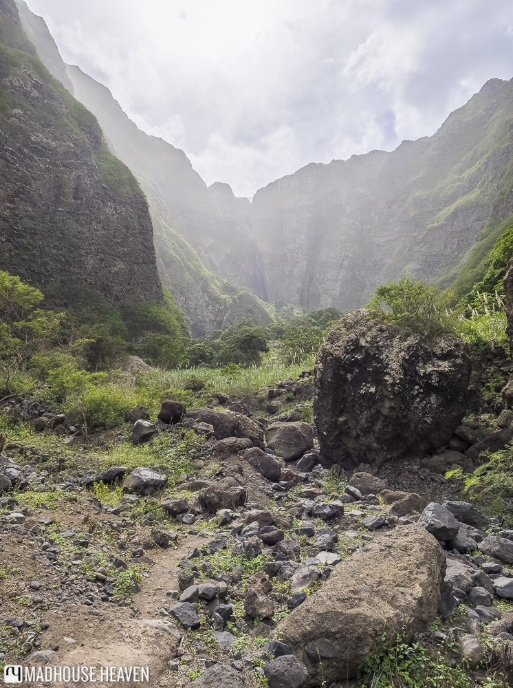 Waterfall Hike in Paúl Valley Santo Antão, Ra de Neve waterfall, Ribeira das Pombas, Paúl Valley, Cape Verde