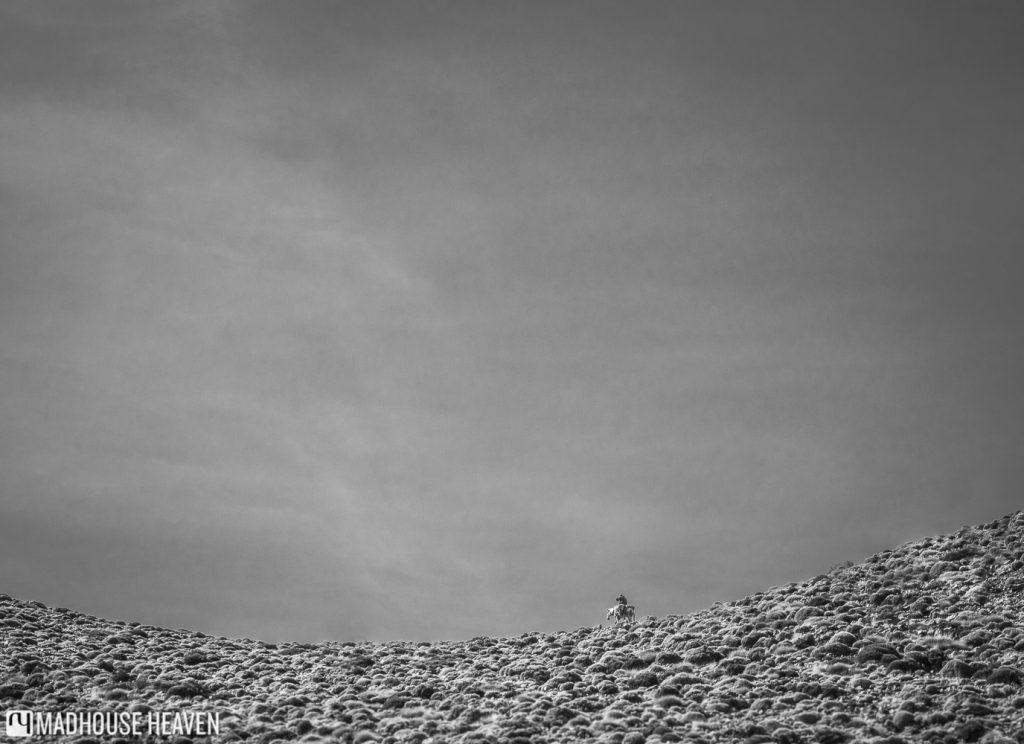Black and white mountain ridge, Hiking in the Atlas Mountains