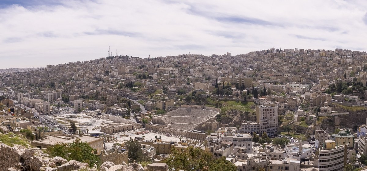 360 Amman, panorama, View from the Citadel, what to do in Amman, Amman Bedouin Metropolis