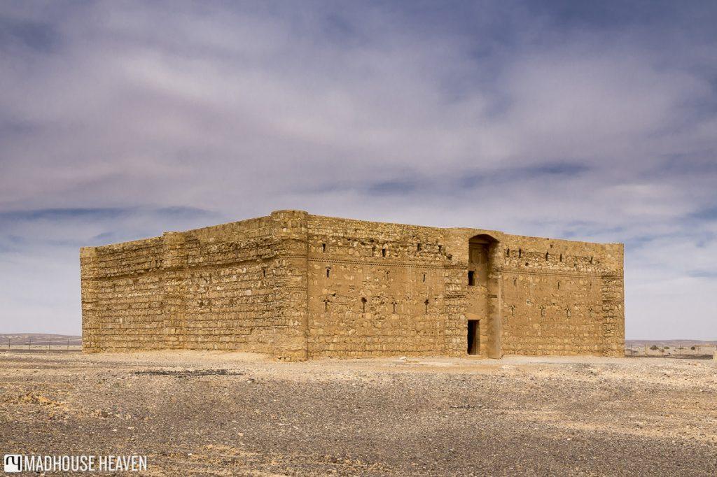 VIsiting Desert Castles of Jordan, Qasr al-Harraneh, Medieval islamic Fort