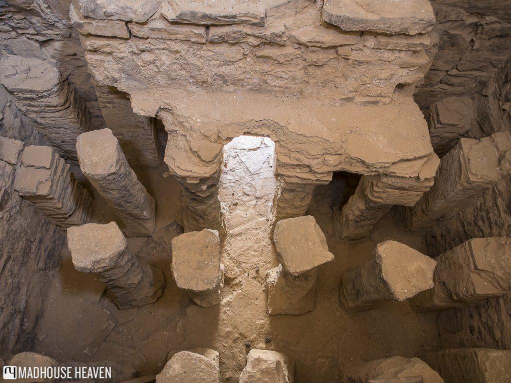 Foundations of Qasr Amra, Desert Castles, Jordan