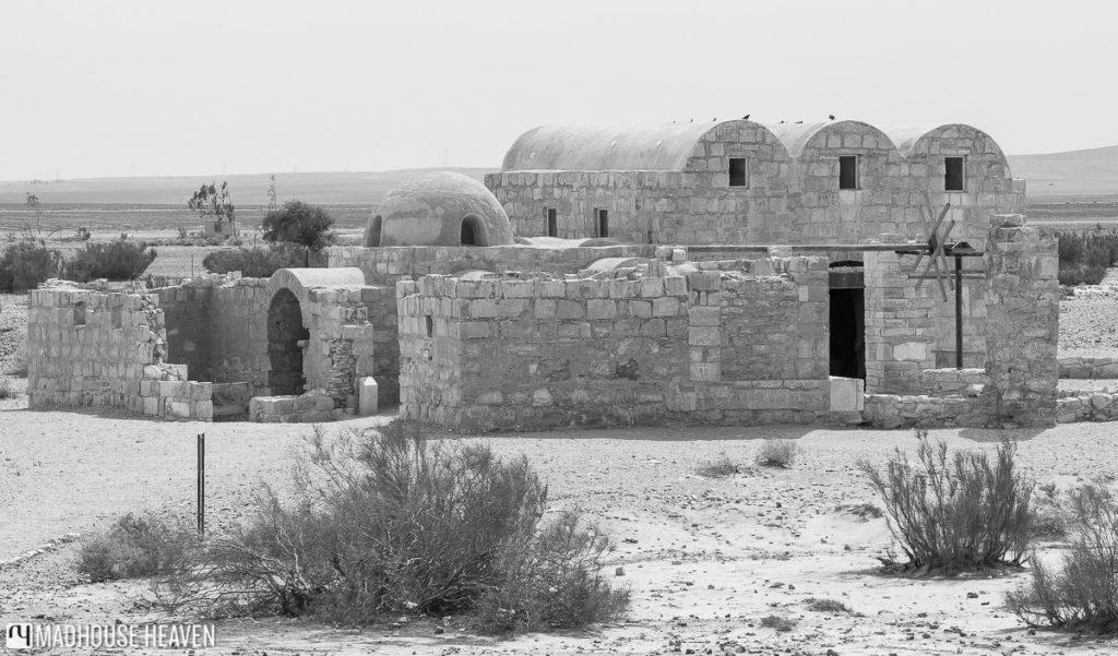 VIsiting Desert Castles of Jordan, qasr amra, medieval islamic bathhouse