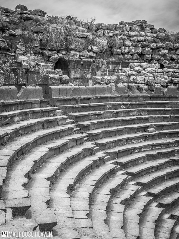 steps of roman amphitheatre in jaresh, jordan tipping and bargaining