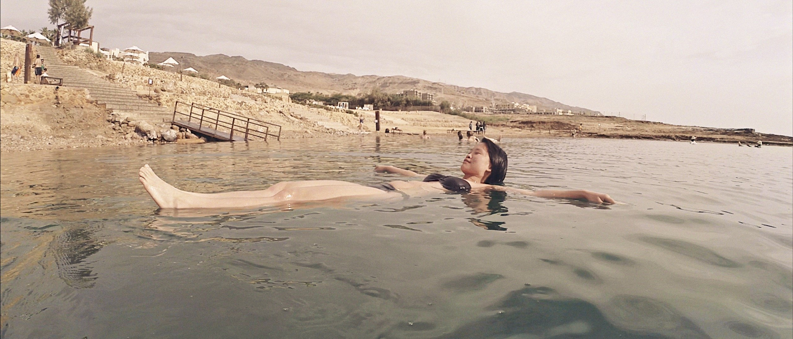 15 Days Jordan Itinerary, dead sea, floating, pickled alive