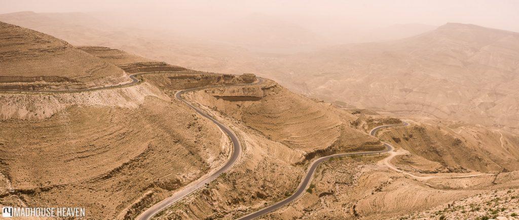 panorama of wadi mujib, largest canyon, jordan tipping and bargaining