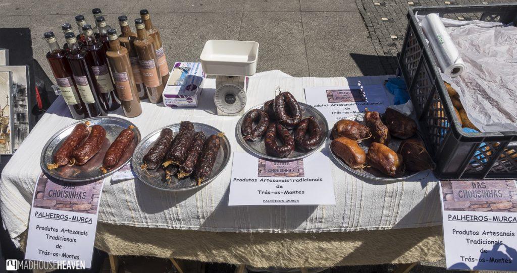porto historical charm, craft sausages, chorizo
