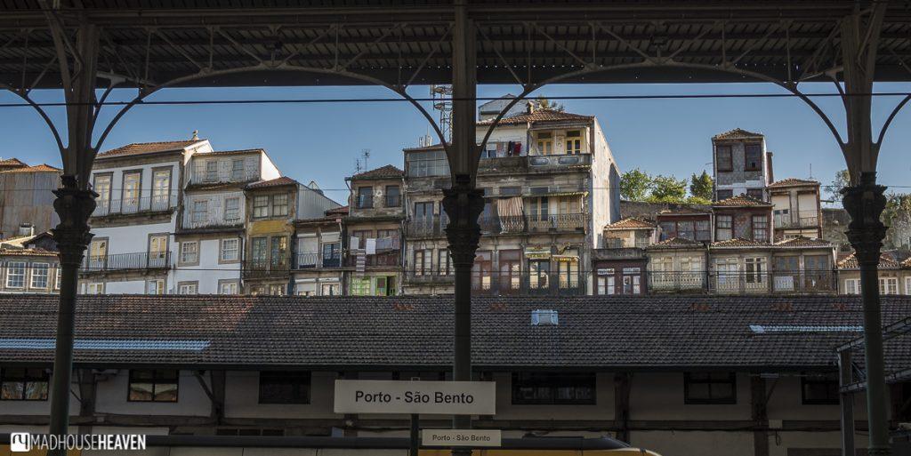 porto historical charm, São Bento, art deco railway station, old shophouses
