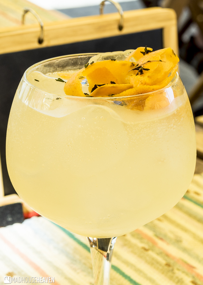 Oriental orange and cardamom gin and tonic, botequim nostalgic, Porto Where to Eat and Drink