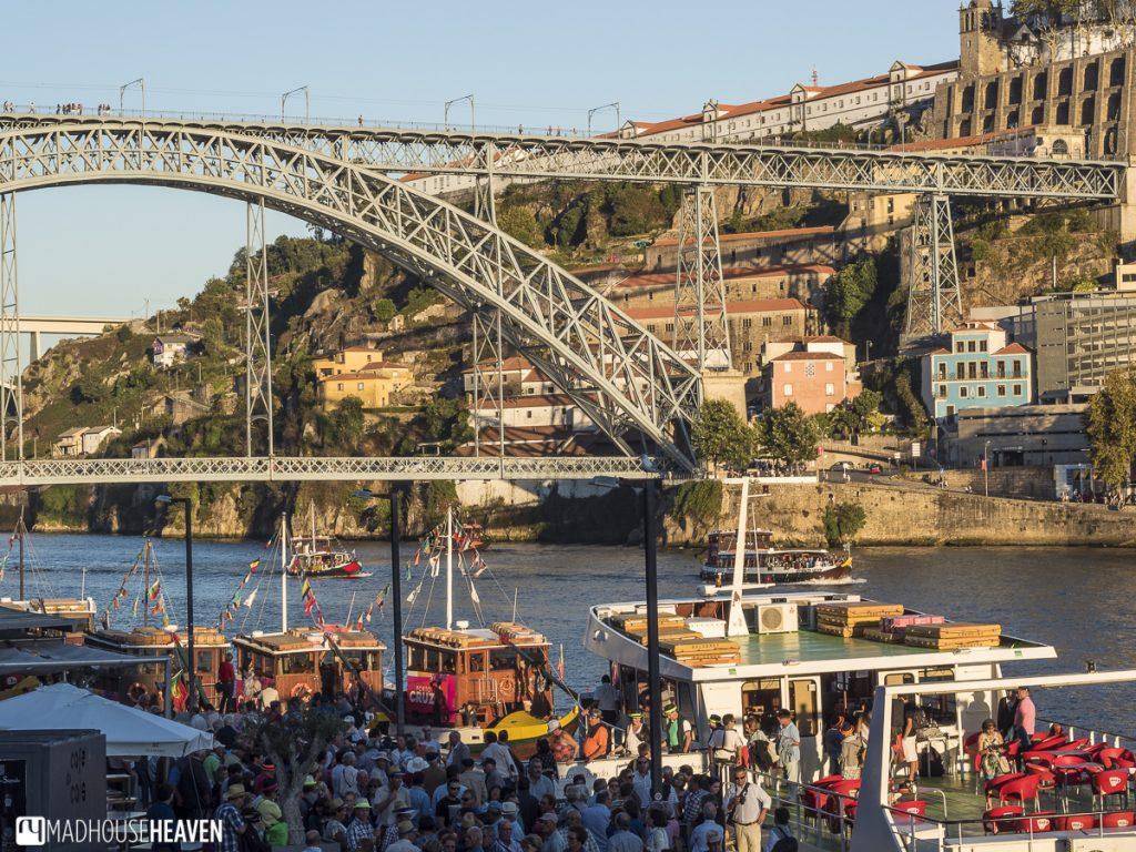 porto historical charm, Dom Luís bridge, Duoro