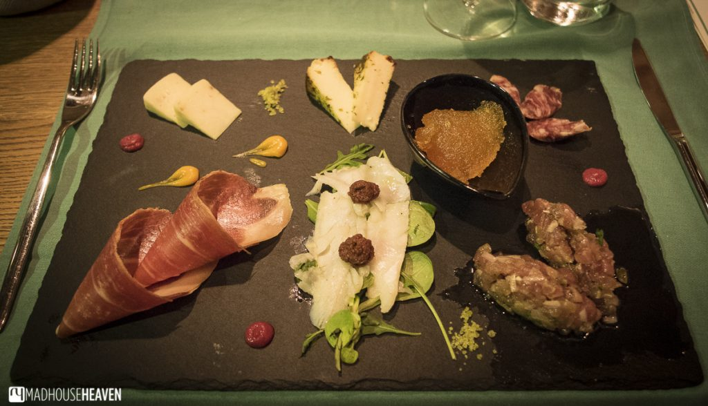 dalmatian charcuterie and cheese board, Split restaurants