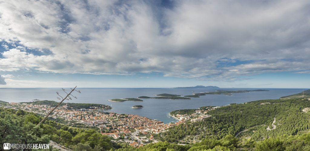 Hvar End of Season, sea view panorama, Croatia