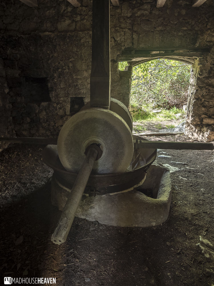 traditiona olive oil press, Hvar Island Tour