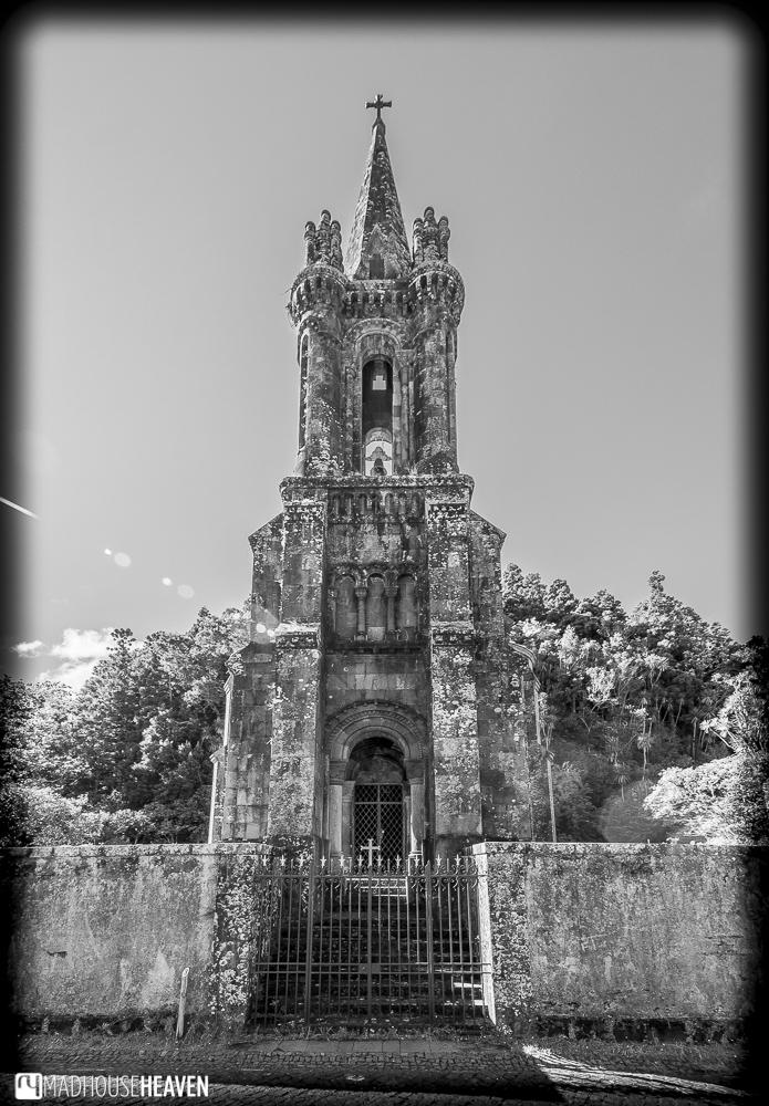entrance to the church of Hermitage of Nossa Senhora das Vitórias