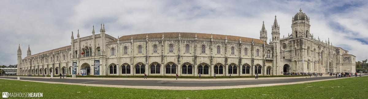 Jerónimos Monastery panorama balem