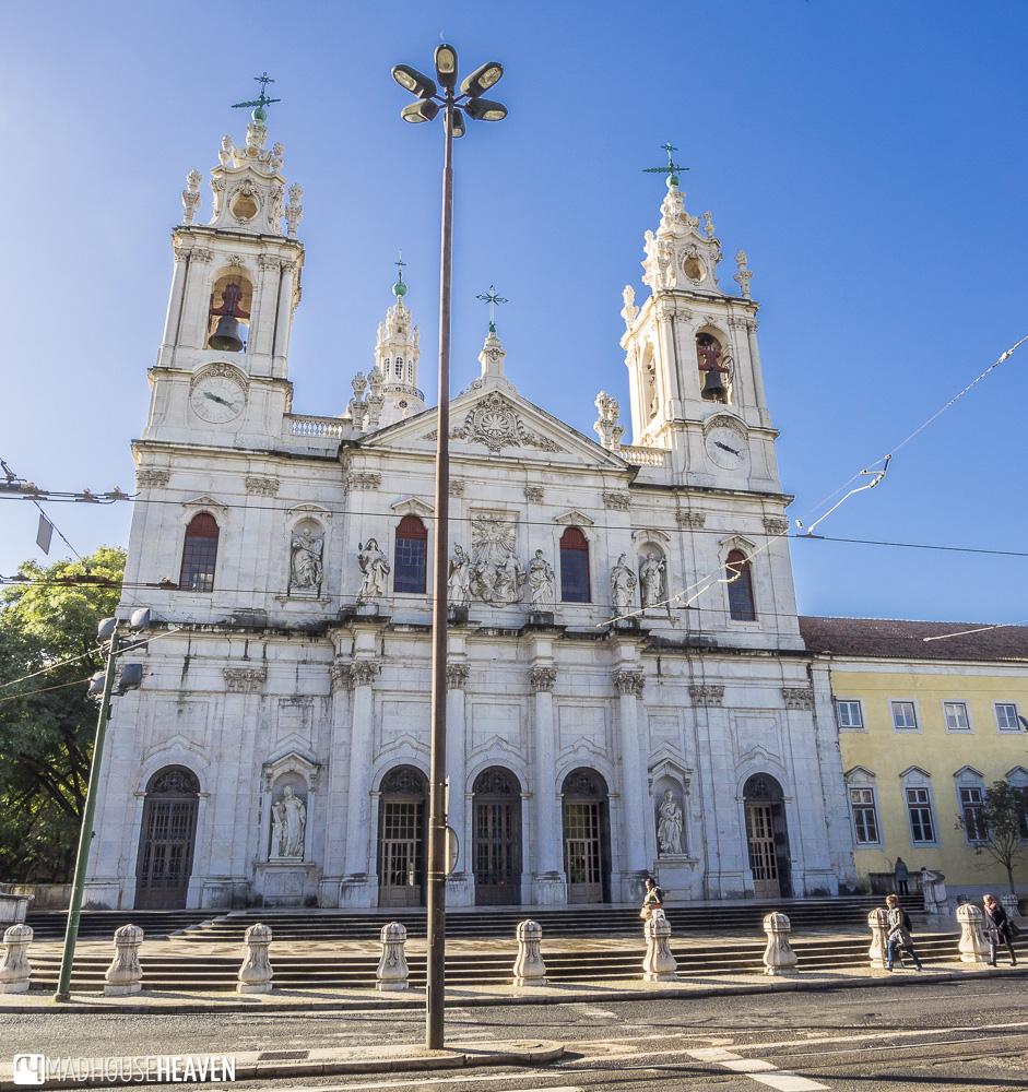 Neoclassical Baroque Basilica da Estrela churches of lisbon