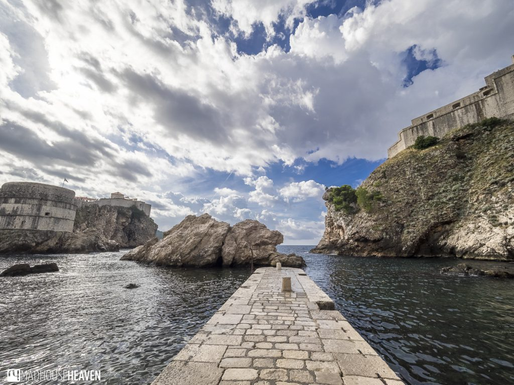 Dubrovnik pier from game of thrones Myrcella's farewell