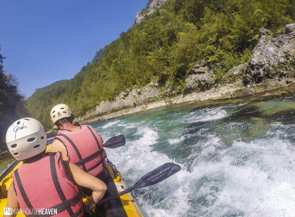 Rafting in Tara Canyon, Montenegro