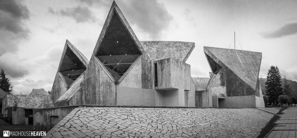 Kolasin, montenegro, brutalist architecture