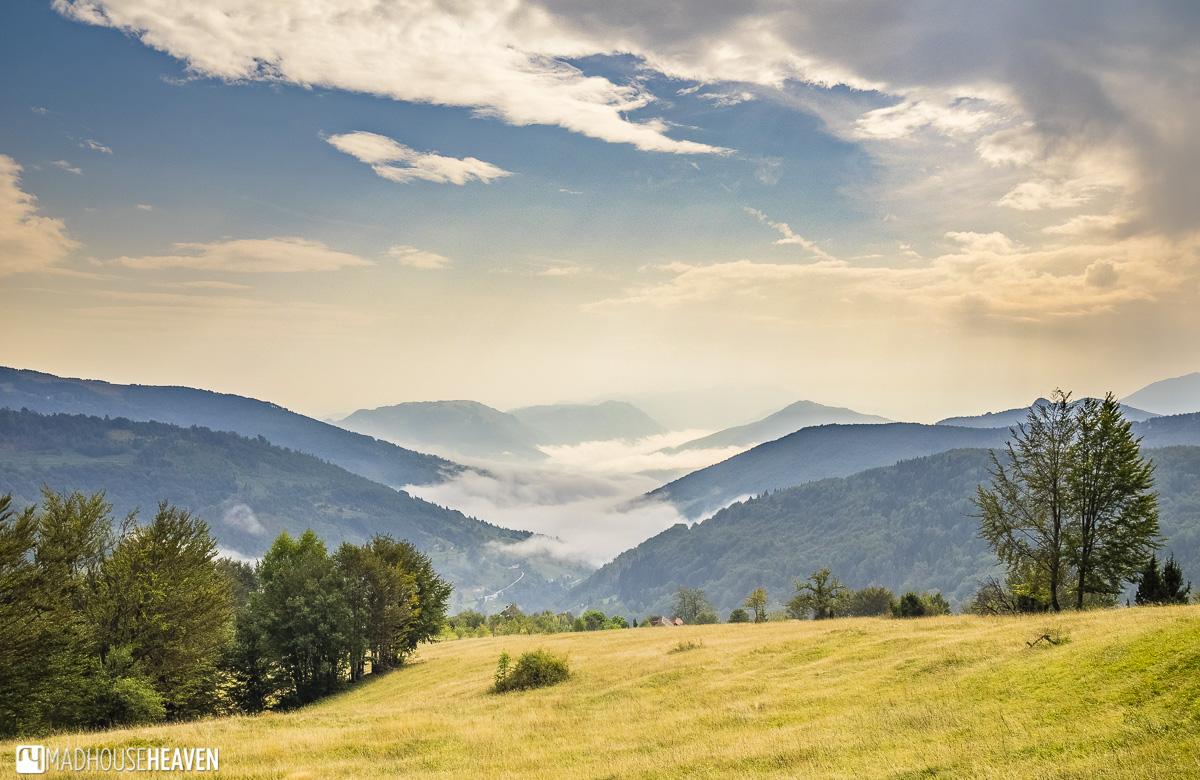 mountain plateau komovi montenegro