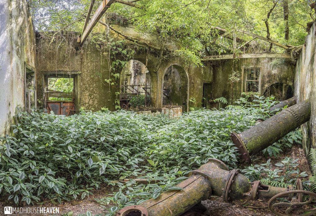 azores sao miguel abandoned powerplant