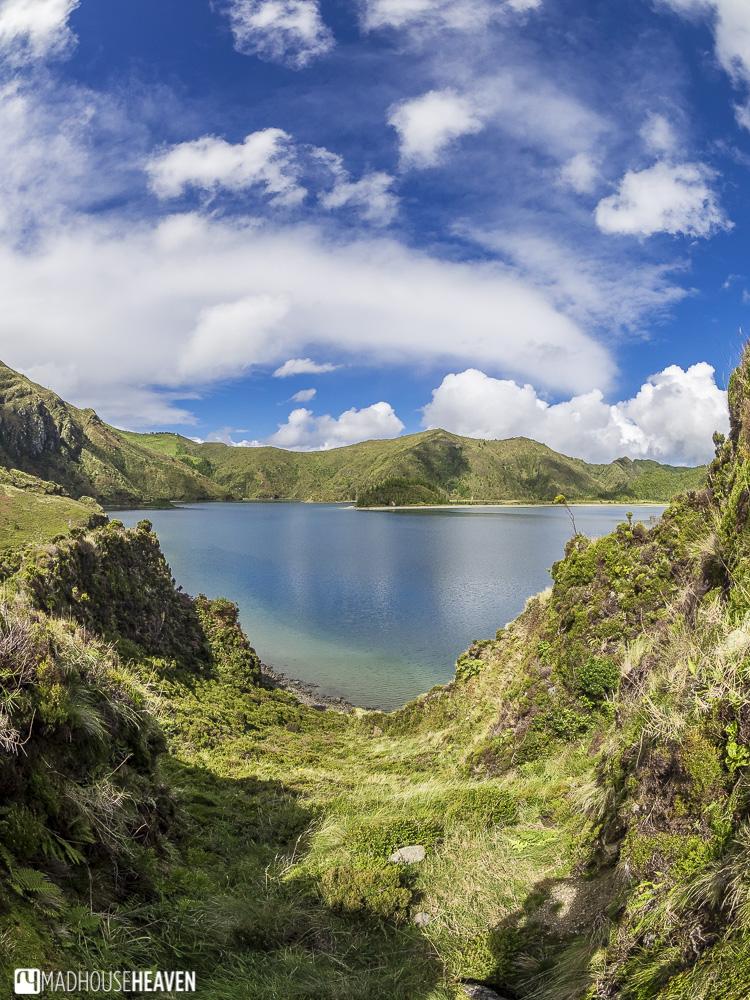 fire lake hike, azores, sao miguel