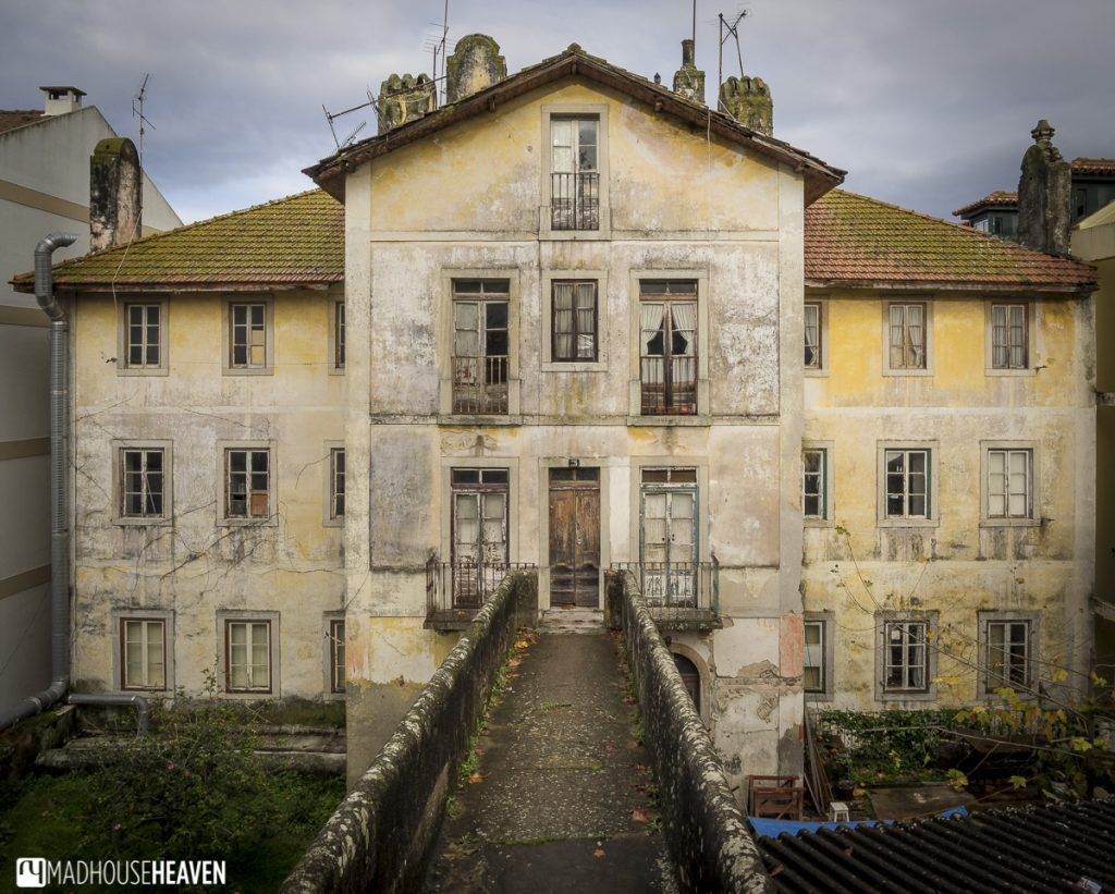 abandoned european/ portuguese mansion, lisbon, portugal