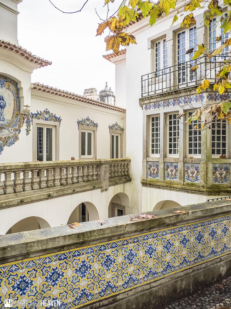 portuguese architecture, azulejos, sintra hotel, european mansion