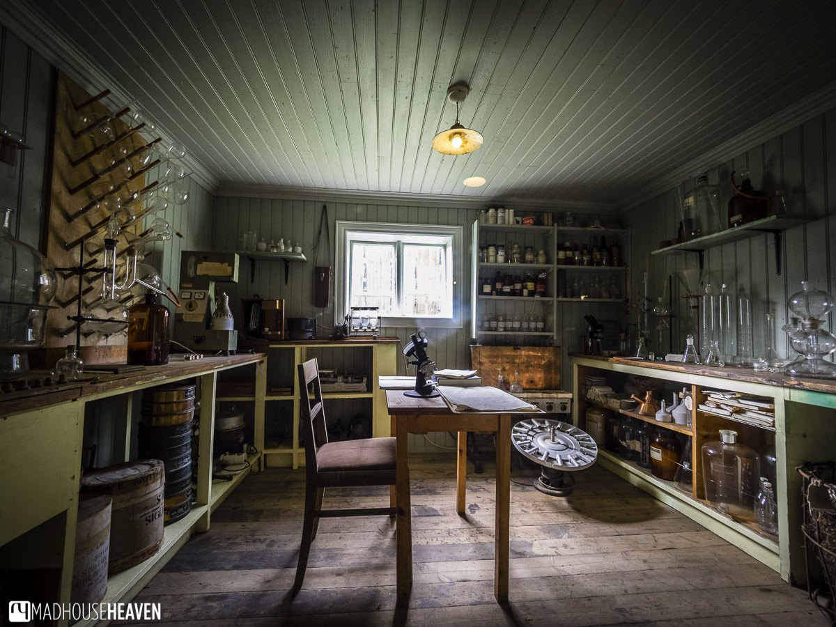 Northern Iceland, Siglufjörður, The Herring Era Museum, Apothecary interior