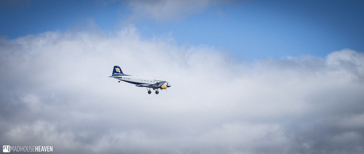 Iceland, small plane