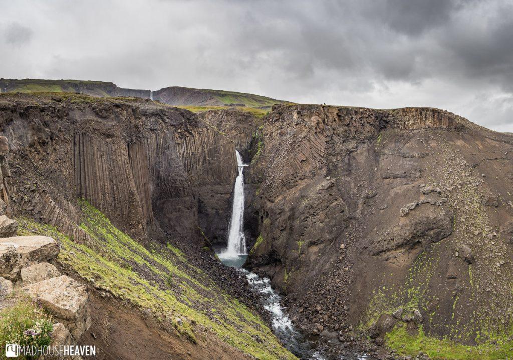 Eastern Iceland, Litlanessfoss , Hengifossá,