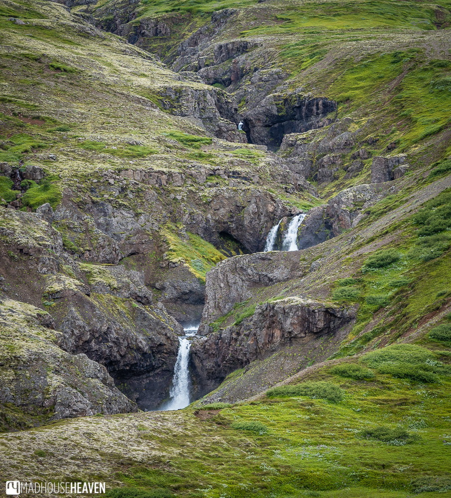 Eastern Iceland, multiple waterfalls