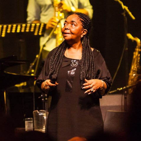 Cesaria Evora, live in Paard van Troje, The Hague, the Netherlands