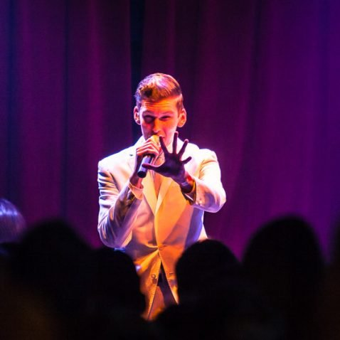 Willy Moon, live at Supermarkt, The Hague, the Netherlands