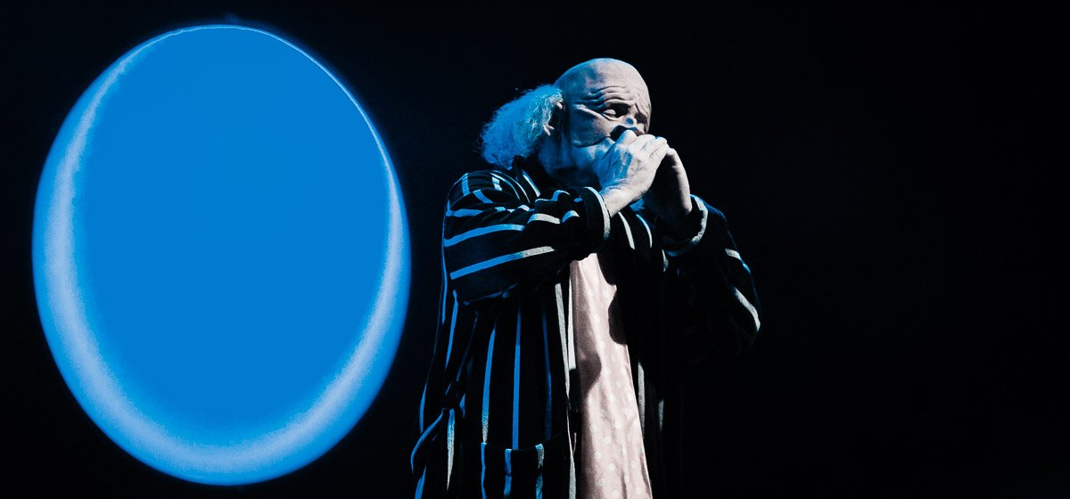 The Residents, live at Paard van Troje, The Hague, the Netherlands