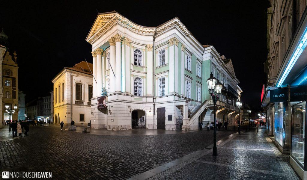 The Estate's Theatre in Prague, where Mozart's Don Giovanni premiered