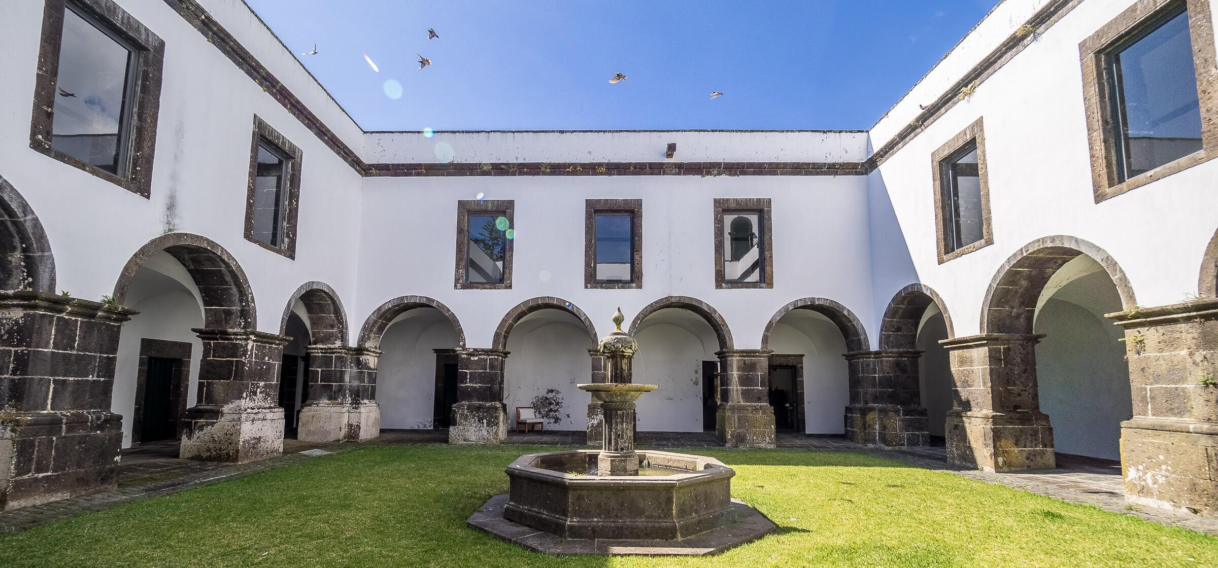 Convento de São Francisco on Sao Miguel, the Azores, Portugal
