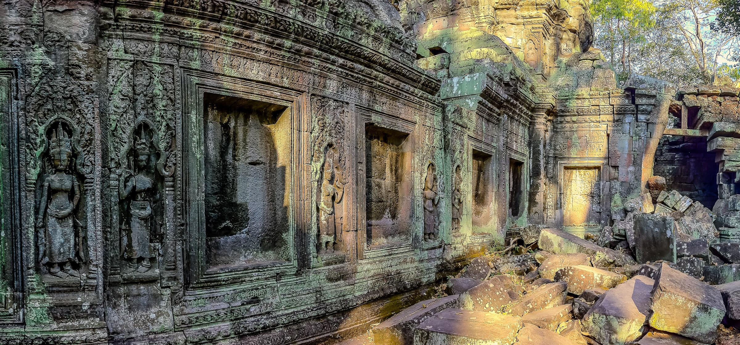 Ta Prohm - Jungle Temple, Angkor, Cambodia