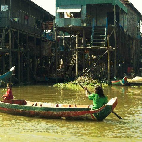 Kampong Phluk - Floating Village - Siem Reap, Cambodia