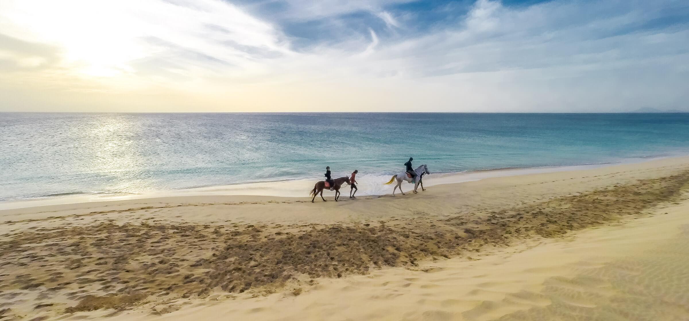 Horse Riding on Sal Island, Cape Verde